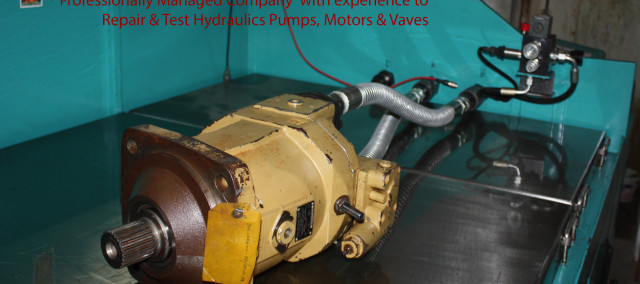 Hydraulic Pump Repair & Testing